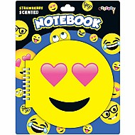 Heart Eyes Emoticon Scented Notebook