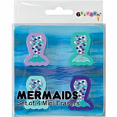 Mermaids Mini Erasers