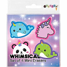 Whimsical Mini Erasers