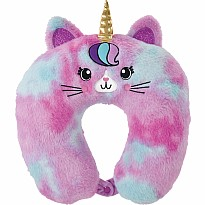 Caticorn Furry Neck Pillow