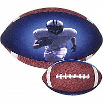 Football Microbead Pillow