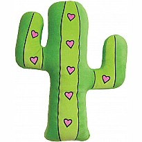 Cactus  Fleece/Embroidered Microbead Pillow