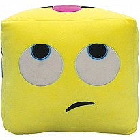 Emoji Cube 3D Embroidered Pillow