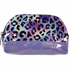 Iridescent Leopard Oval Cosmetic