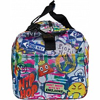 Emoji Graffiti Duffle Bag