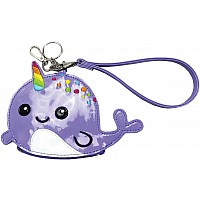 Narwhal Purse/Key Chain