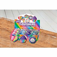 Rainbow Sweet Squishems Set 24pc, Scented, $3ea