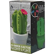 Flower Cactus Night Light