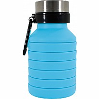 Blue Collapsible Water Bottle