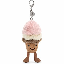 Amuseable Ice Cream Bag Charm