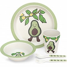 Amuseables Avocado Bamboo Set