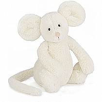 Jellycat Bashful Cream Mouse Medium