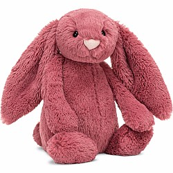 Bashful Dusty Pink Bunny Medium