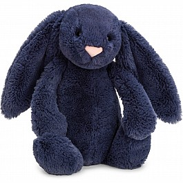 JellyCats Bashful Navy Bunny Medium