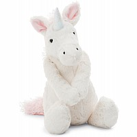 Jellycat Bashful Unicorn, Medium - 12 inches