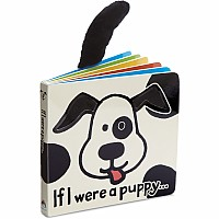 If I Were a Puppy Book (Black & Cream)