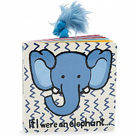 JellyCats If I were an Elephant Board Book