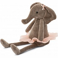 Dancing Darcey Elephant Small