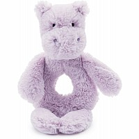 Bashful Hippo Ring Rattle