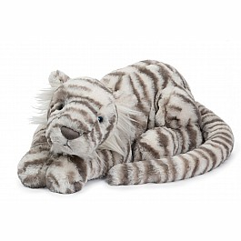 JellyCats Sacha Snow Tiger Medium
