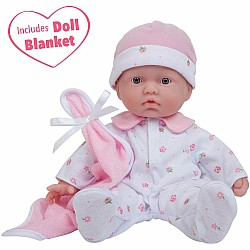 "La Baby 11"" Soft Body Caucasian Baby Doll"