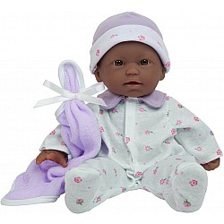 "La Baby 11"" Soft Body African American Baby Doll"