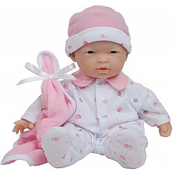 La Baby 11-inch Soft Body Asian Baby Doll