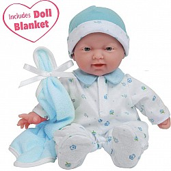 La Baby 11-inch Soft Body Caucasian Boy Baby Doll