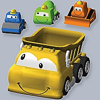 Construction Vehicle Tub Toy Family