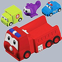Rescue Vehicle Family Tub Toy