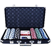 300 Chip Poker Game Set