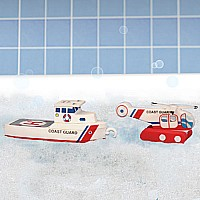 BathBlocks Coast Guard Set