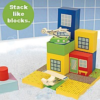 BathBlocks Floating Airport Set