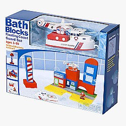 Bath Blocks Coast Guard Set in Gift Box