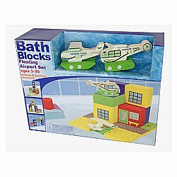 Bath Blocks Floating Airport in Gift Box