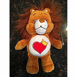 Just Play Care Bear Bean Brave Heart Lion Plush