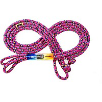 Just Jump It 16' Raspberry Confetti Jump Rope
