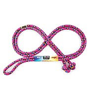 Just Jump It 8' Raspberry Confetti Jump Rope