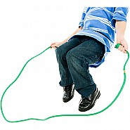 8' Green Rainbow Jump Rope