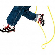 8 Footjump Rope-yellow
