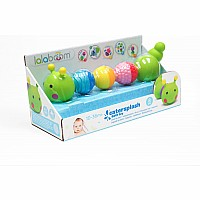 Bath Toy Caterpillar And Beads - 8 Pcs