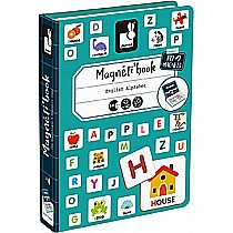 English Alphabet Magneti'Book