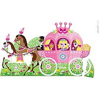 Floor Puzzle Princess' Coach 39 Pcs