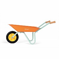 Happy Garden Metal Wheelbarrow