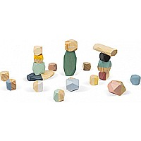 Sweet Cocoon Stacking Stones - Set of 20