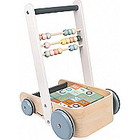 Sweet Cocoon Cart With Abc Blocks **Assembly Required** We can assemble