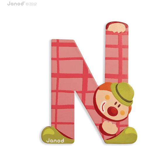 Clown Letter N