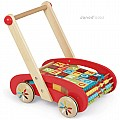 ABC Buggy Baby Walker 30 Blocks