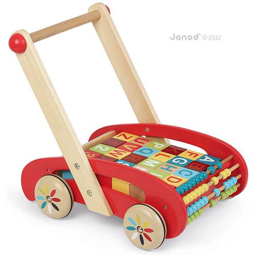 ABC Buggy Baby Walker 30 Blocks - Juratoys