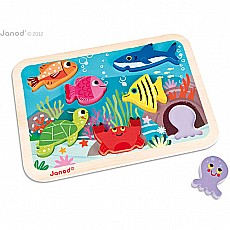 Ocean Animal Chunky Puzzle